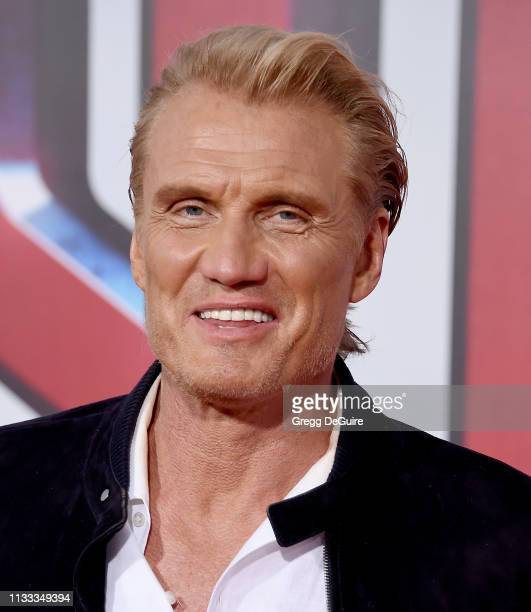 Dolph Lundgren attends Warner Bros Pictures And New Line Cinema's World Premiere Of SHAZAM at TCL Chinese Theatre on March 28 2019 in Hollywood...