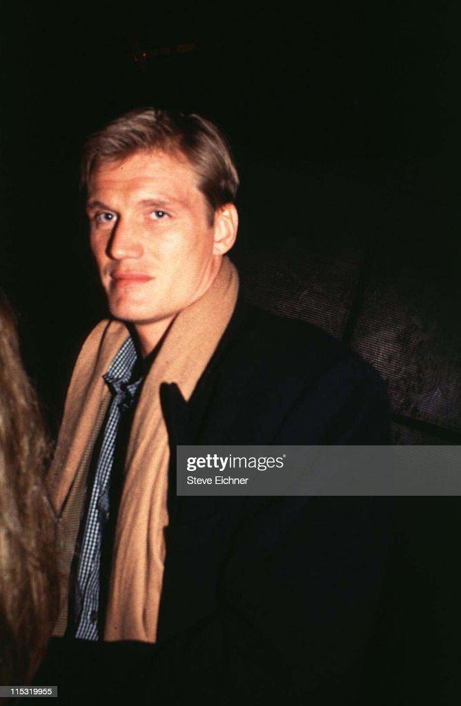 Dolf Lundgren at Club USA - 1993