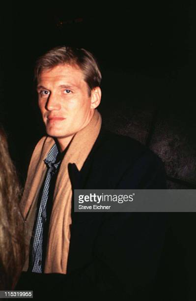 Dolph Lundgren during Dolf Lundgren at Club USA 1993 at Club USA in New York City New York United States