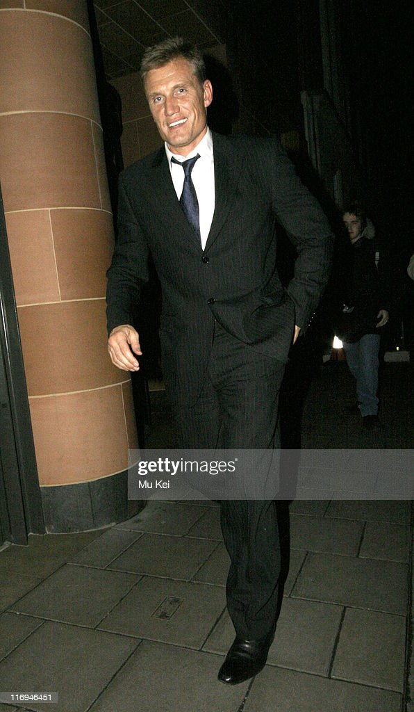 Dolph Lundgren Sighting at Cipriani's Restaurant in London - January 18, 2006