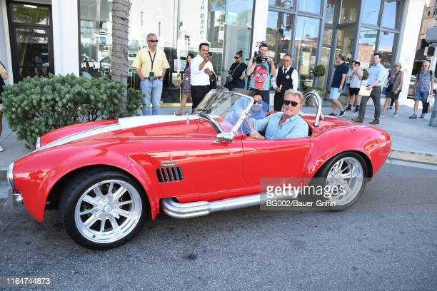 Dolph Lundgren is seen on August 29, 2019 in Los Angeles, California.