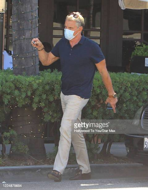 Dolph Lundgren is seen on July 4, 2020 in Los Angeles, California.