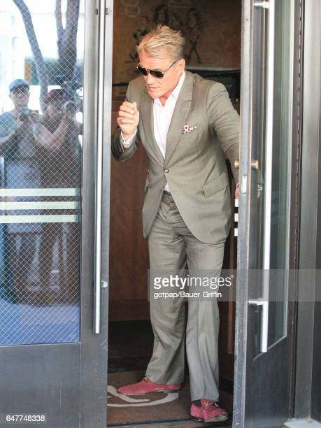 Dolph Lundgren is seen on March 03 2017 in Los Angeles California