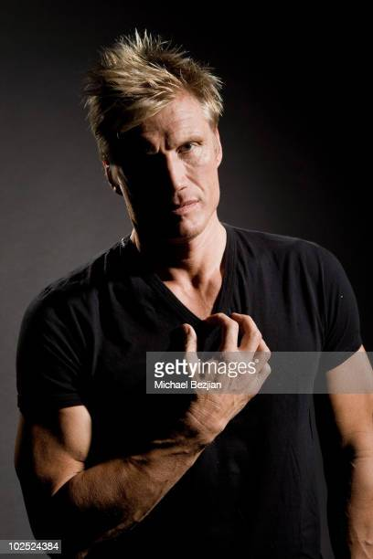 Dolph Lundgren poses for a portrait on December 16, 2008 in Los Angeles, California.