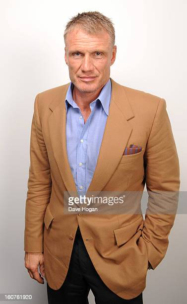 Dolph Lundgren poses for a portrait on January 30, 2013 in London, England.