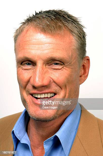 Dolph Lundgren poses for a portrait on January 30 2013 in London England
