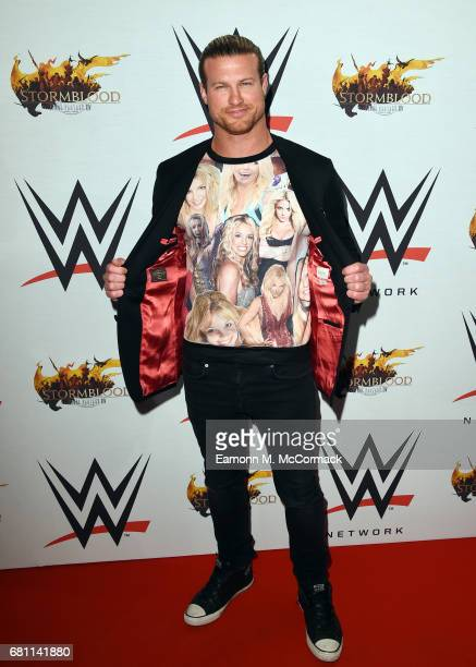 Dolph Ziggler attends the WWE SmackDown live show at The O2 Arena on May 9 2017 in London England