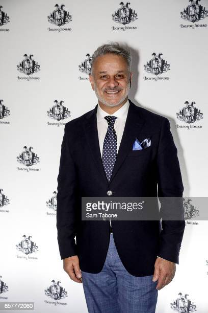 Dom Bagnato arrives ahead of the Baroq House re-launch on October 5, 2017 in Melbourne, Australia.