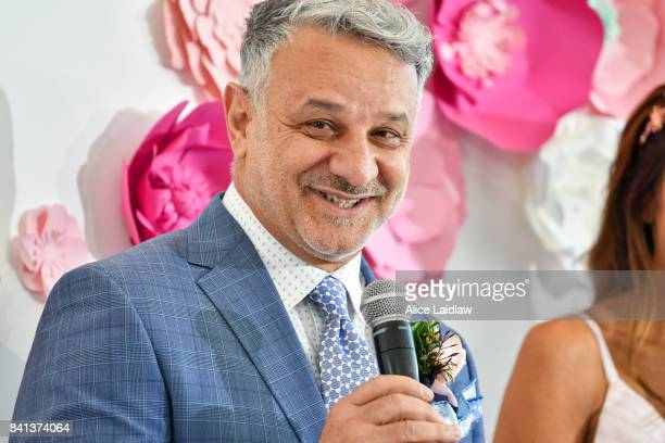 Dom Bagnato at the Spring Racing Carnival Launch at Greenfields on September 01, 2017 in Albert Park, Australia.