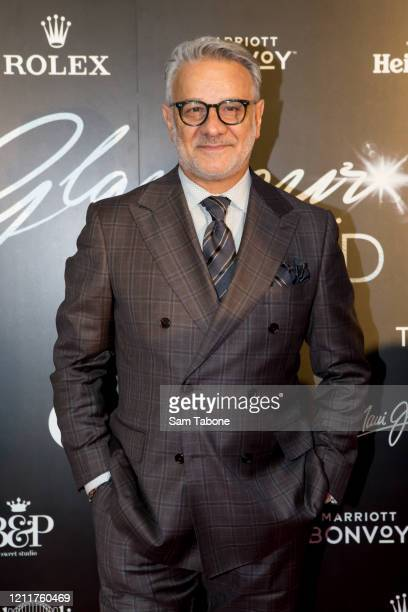 Dom Bagnato attends the Glamour On The Grid party on March 11, 2020 in Melbourne, Australia.