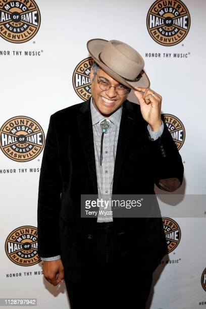 Dom Flemons attends the Country Music Hall of Fame and Museum's new exhibition American Currents The Music of 2018 on March 5 2019 in Nashville...
