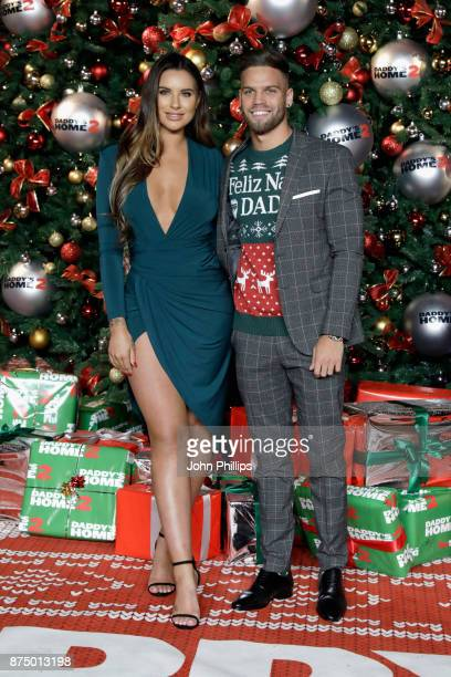 Dom Lever and Jessica Shears arrive at the UK Premiere of 'Daddy's Home 2' at Vue West End on November 16 2017 in London England