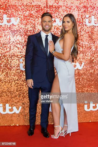 Dom Lever and Jessica Shears arriving at the ITV Gala held at the London Palladium on November 9 2017 in London England
