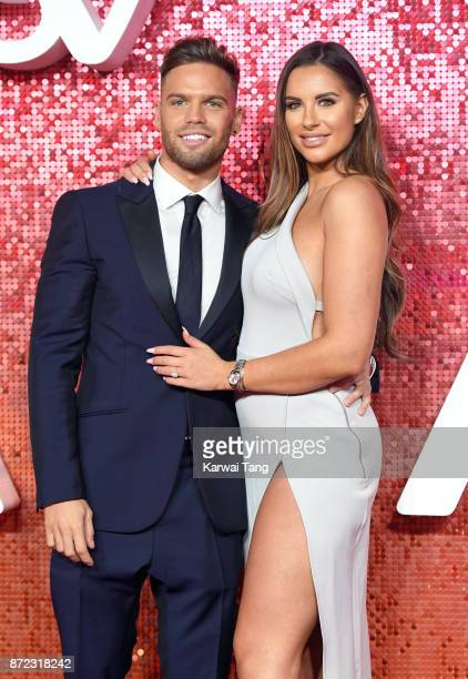 Dom Lever and Jessica Shears attend the ITV Gala at the London Palladium on November 9 2017 in London England