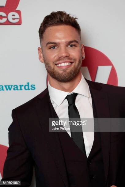 Dom Lever arrives for the TV Choice Awards at The Dorchester on September 4 2017 in London England