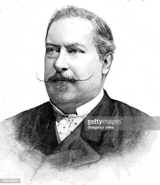 Dom LuÕs, 31 October 1838 - 19 October 1889, was a member of the House of Braganza, and King of Portugal and the Algarves, hictorical illustration...