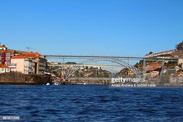 Dom Luís I Bridge in Porto, Portugal