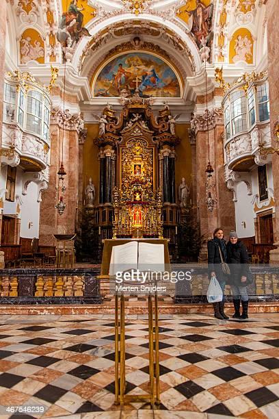 Dom Sankt Jakob church interior