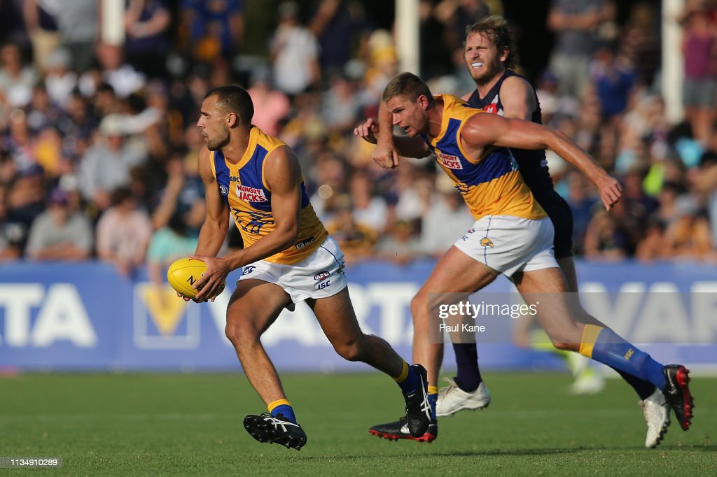 Fremantle v West Coast - 2019 JLT Community Series : Nieuwsfoto's