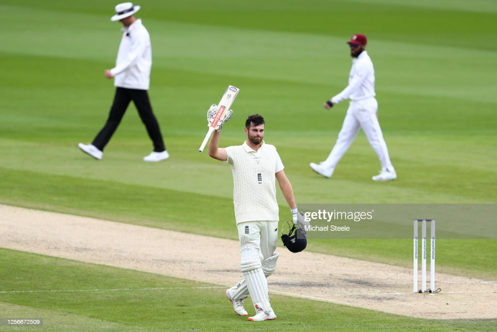 England v West Indies: Day 2 - Second Test #RaiseTheBat Series : ニュース写真