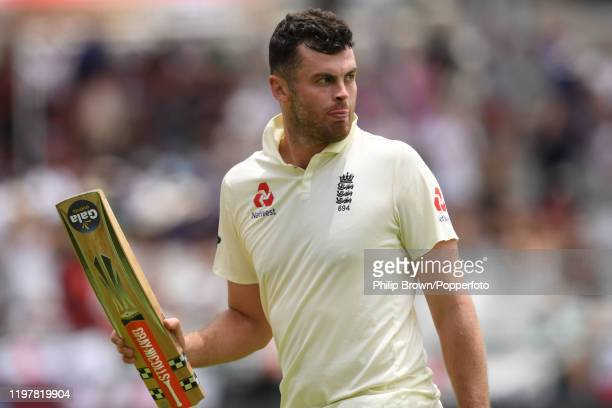 Dom Sibley of England leaves the field for lunch during Day Four of the Second Test between England and South Africa at Newlands on January 06 2020...