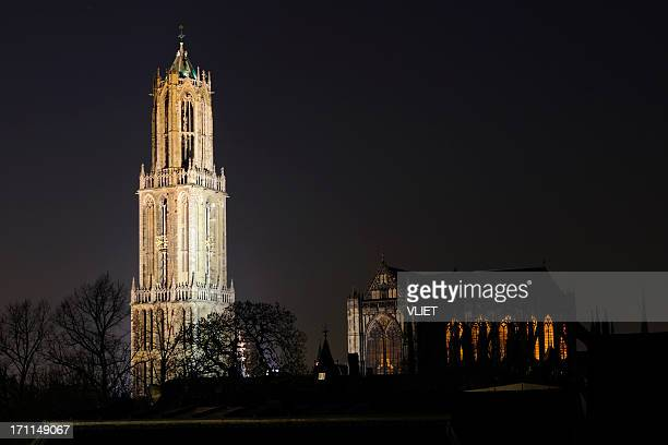 Dom tower and church in Utrecht