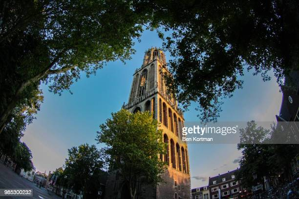 dom, utrecht - tower stock pictures, royalty-free photos & images