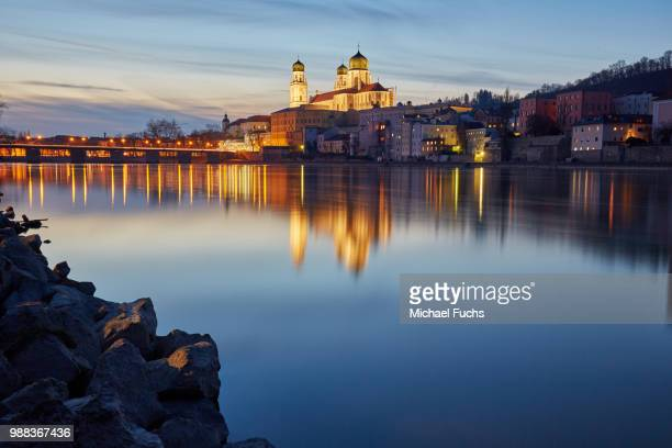 dom zu passau - austria stock pictures, royalty-free photos & images