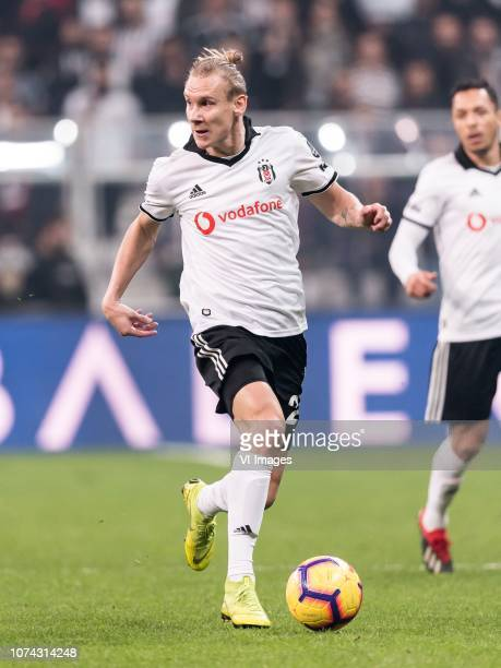 Domagoj Vida of Besiktas JK during the Turkish Spor Toto Super Lig football match between Besiktas JK and Trabzonspor AS on December 16 2018 at the...