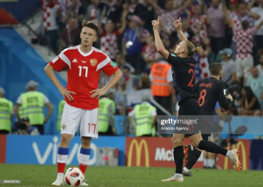 Russia vs Croatia : Quarter Final - 2018 FIFA World Cup Russia : News Photo