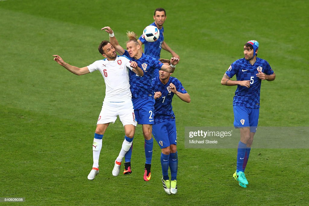 Czech Republic v Croatia - Group D: UEFA Euro 2016