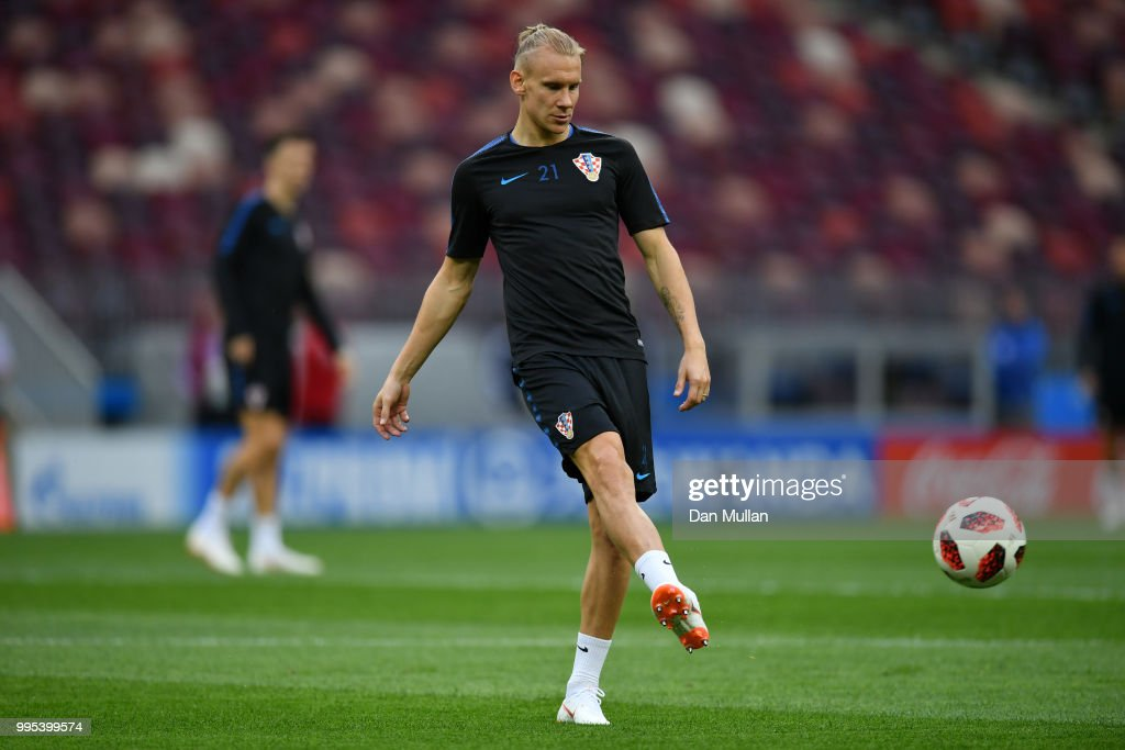 Croatia Training Session and Press Conference - 2018 FIFA World Cup Russia : News Photo