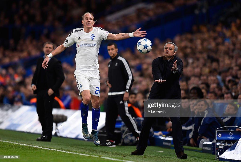 Chelsea FC v FC Dynamo Kyiv - UEFA Champions League