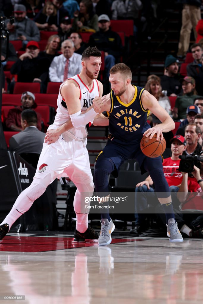 Indiana Pacers v Portland Trail Blazers