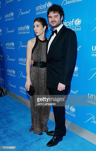 Domatilla Dotti and Luca Dotti attend UNICEF Snowflake Ball 2012 at Cipriani 42nd Street on November 27 2012 in New York City