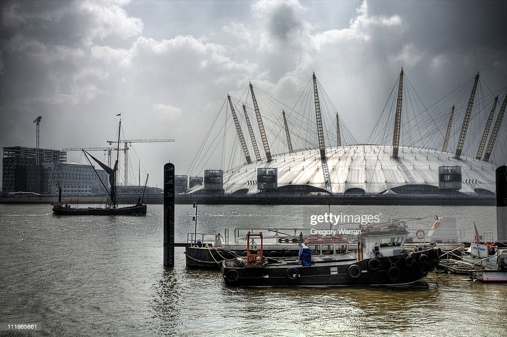 Dome and Old Boat : Stock Photo
