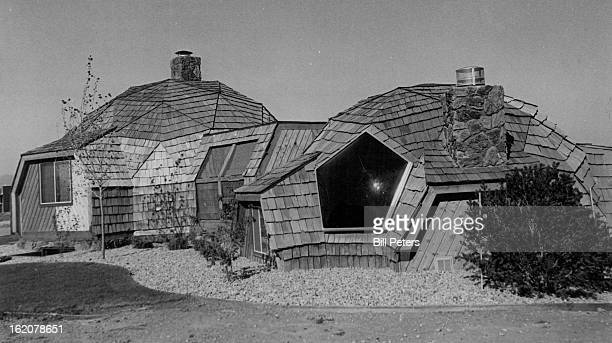 OCT 11 1980 Dome Home Shape Helps Save Energy The exterior of John Scheurman¦ geodesic dome house above resembles a ranchstyle home topped with...