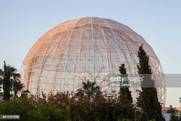 Dome in City of Arts and Sciences in Valencia