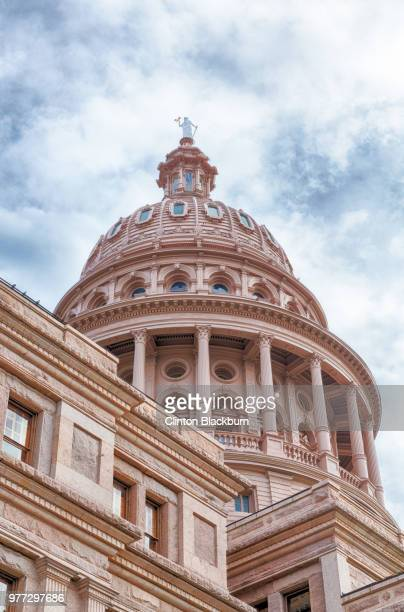 dome of cathedral, austin, texas, usa - austin texas stock pictures, royalty-free photos & images
