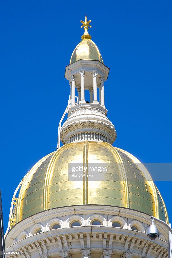 Dome of NJ State Capitol, Trenton : Stock Photo