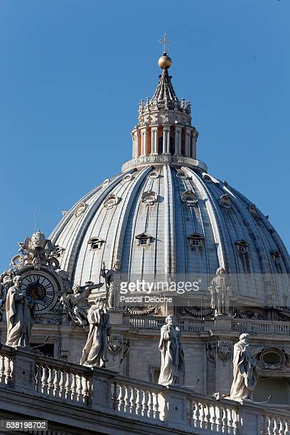 Dome of of St. Peter's Basilica.
