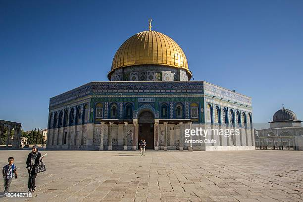 CONTENT] Dome of rock on top of Temple Mount in the Old City of Jerusalem Along the south side of the Temple Mount is instead the alAqsa Mosque...