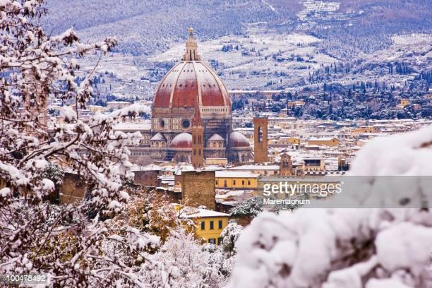 Dome of Santa Maria del Fiore Duomo and the town