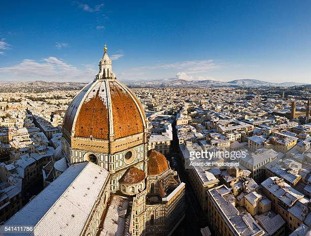 Dome of Santa Maria del Fiore seen from Giotto's Campanile