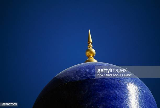 Dome of the Al Khor mosque, Muscat, Oman.