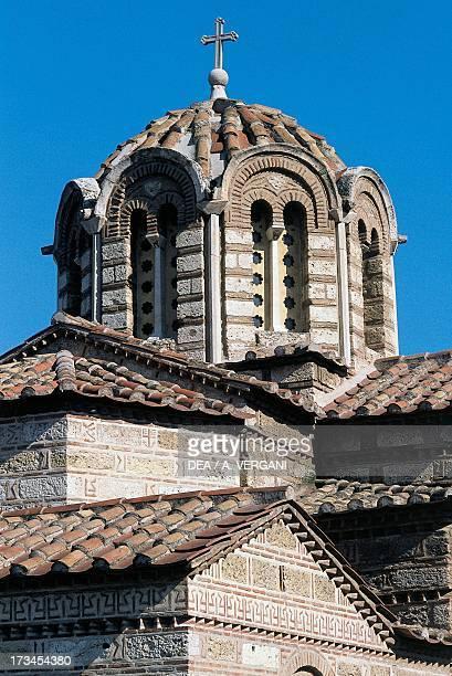 Dome of the Church of Panaghia Kapnikarea Athens Greece