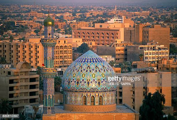 Dome of the Fourteen Ramadan mosque Baghdad Iraq 20th century