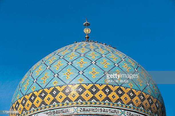 Dome of the mosque Hamadan Iran