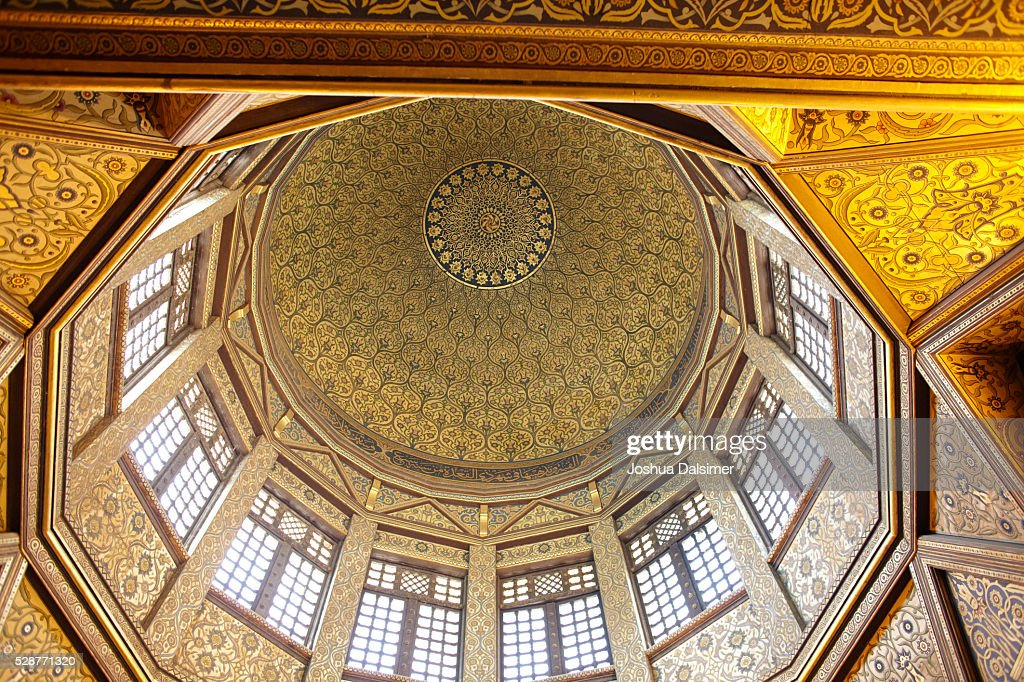 Dome of the Nilometer on Rawda Island : Stock Photo