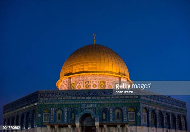 Dome of the Rock Islamic Mosque Temple Mount, Jerusalem, Palestine